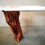 mesa mueble resina