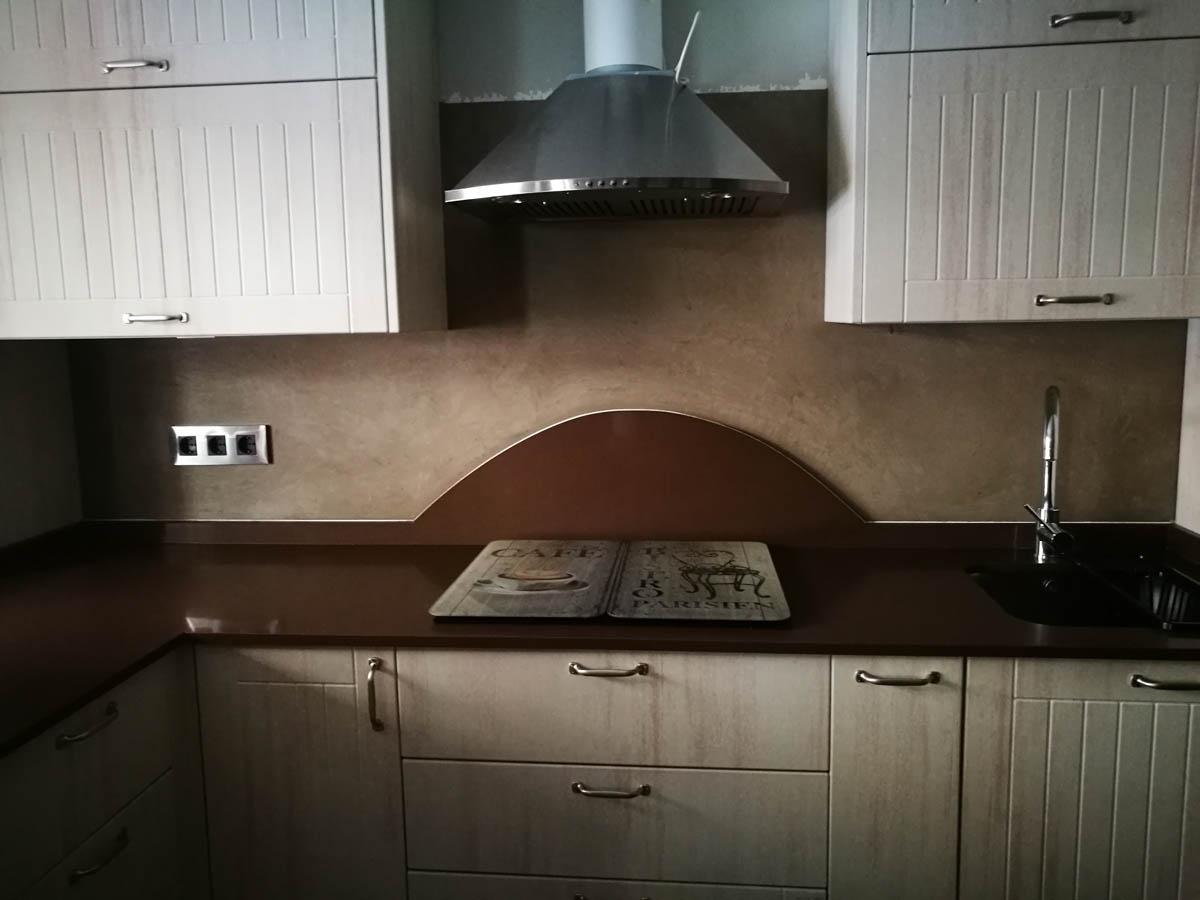 microcemento cocina