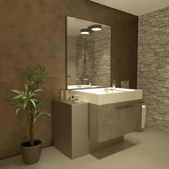 Microcemento ba os microcemento ba eras y platos ducha - Aplicacion de microcemento en paredes ...